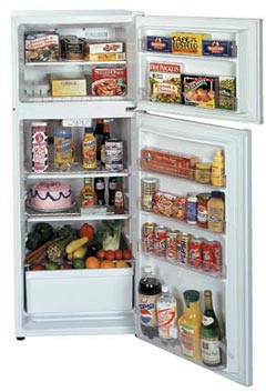 Summit Refrigerator Freezer - Full Size - FF1110W by Summit
