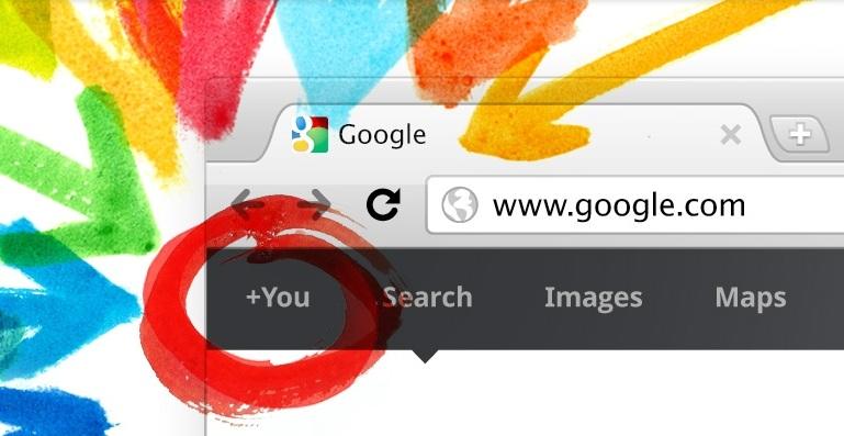 Google+ Welcome Screen