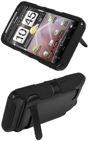 Kickstand on the Seidio Active Extended Case for the HTC Thunderbolt