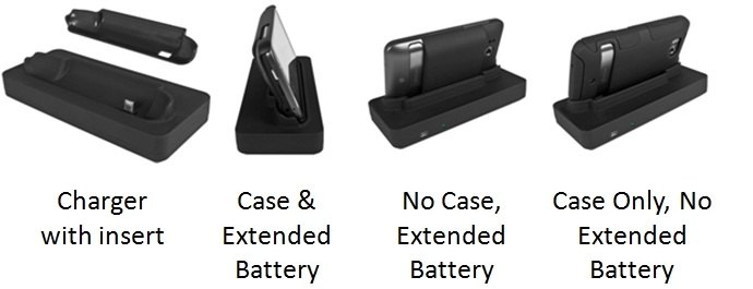 Seidio Thunderbolt Desktop Charging Cradle alternate views