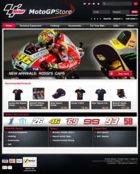 MotoGP Store Homepage